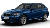 BMW X1 M Sport blue front three quarter launched in India