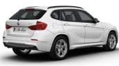 BMW X1 M Sport white rear three quarter launched in India