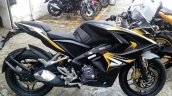 Bajaj Pulsar RS 200 matte black yellow