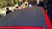 Bajaj Qute black roof during unveil in India