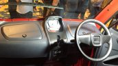 Bajaj Qute dashboard steering during unveil in India