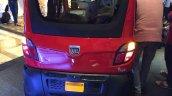 Bajaj Qute rear bumper during unveil in India