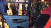 Bajaj Qute rear door during unveil in India