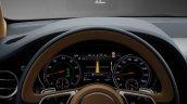 Bentley Bentayga cluster press shots