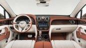 Bentley Bentayga dashboard press shots