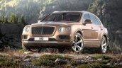 Bentley Bentayga front press shots