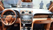 Bentley Bentayga interior at the IAA 2015