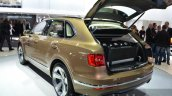 Bentley Bentayga rear three quarter at the IAA 2015