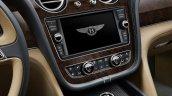 Bentley Bentayga touchscreen press shots