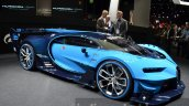 Bugatti Vision GT front three quarter at the IAA 2015