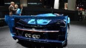 Bugatti Vision GT rear quarter at the IAA 2015