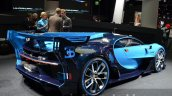Bugatti Vision GT rear three quarter at the IAA 2015