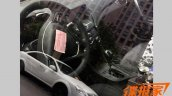 Chery Arrizo 5 interior spotted undisguised