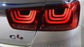 Citroen C4 Sedan taillight at the 2015 Chengdu Motor Show