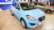 Datsun Go Limited Edition front three quarter right at Nepal Auto Show 2015