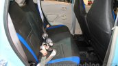 Datsun Go Limited Edition rear seats at Nepal Auto Show 2015