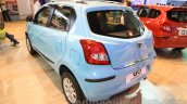 Datsun Go Limited Edition rear three quarter at Nepal Auto Show 2015