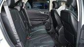 Euro Spec 2016 Ford Edge rear seat at IAA 2015