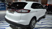 Euro Spec 2016 Ford Edge rear three quarter at IAA 2015