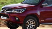Euro-spec 2015 Toyota Hilux front end unveiled