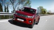 Euro-spec 2015 Toyota Hilux front quarter unveiled