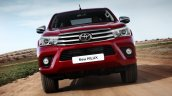 Euro-spec 2015 Toyota Hilux front unveiled