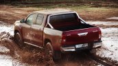Euro-spec 2015 Toyota Hilux rear three quarter unveiled