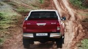 Euro-spec 2015 Toyota Hilux rear unveiled