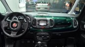 Fiat 500L Trekking dashboard at the IAA 2015