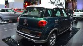 Fiat 500L Trekking rear three quarter at the IAA 2015