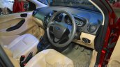 Ford Figo Aspire dashboard at the 2015 NADA Auto Show