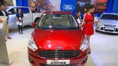 Ford Figo Aspire front at the 2015 NADA Auto Show