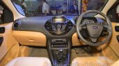 Ford Figo Aspire interior at the 2015 NADA Auto Show