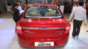Ford Figo Aspire rear at the 2015 NADA Auto Show