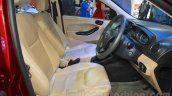 Ford Figo Aspire seats at the 2015 NADA Auto Show