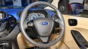 Ford Figo Aspire steering at the 2015 NADA Auto Show