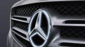 Genuine Accessories for Mercedes GLC at 2015 IAA-illuminated tri spoke badging