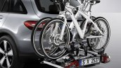 Genuine Accessories for Mercedes GLC at 2015 IAA-rear cycle rack