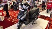 Hero Maestro Edge front quarter launched India live pics
