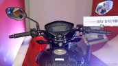Honda CB Unicorn 160 digital instrument cluster at Nepal Auto Show 2015
