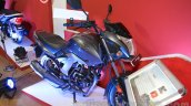 Honda CB Unicorn 160 front three quarter right at Nepal Auto Show 2015