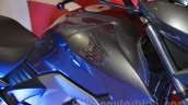 Honda CB Unicorn 160 fuel tank at Nepal Auto Show 2015