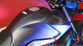 Honda CB Unicorn 160 muscular tank at Nepal Auto Show 2015