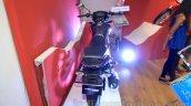 Honda CB Unicorn 160 rear at Nepal Auto Show 2015