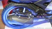 Honda CB Unicorn 160 silencer at Nepal Auto Show 2015