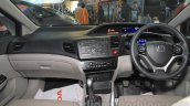 Honda Civic sedan dashboard Nepal Auto Show 2015