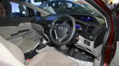 Honda Civic sedan interior Nepal Auto Show 2015