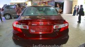 Honda Civic sedan rear Nepal Auto Show 2015