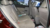 Honda Civic sedan rear seats legroom Nepal Auto Show 2015