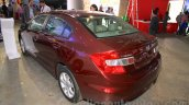 Honda Civic sedan rear three quarter left Nepal Auto Show 2015